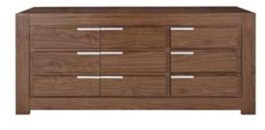 NEW IN BOX Oregon 3-Drawer, 2-Door Large Sideboard in Walnut-Effect