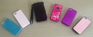 ★ SELLING 6 BRAND NEW ★ iPhone 5 /5S CASES! ★