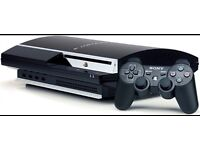 Play station 3 plus two controllers plus games!
