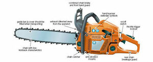 GAS CHAINSAWS STARTING AT $115 - ALL NEW - Windsor Region Ontario image 2