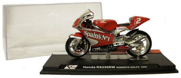 Ixo/altaya Alt39 Honda Rs 250rw 2004 - Roberto Rolfo 1/24 Scale