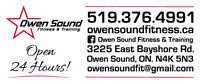 2 Week Free Trial Memberships at Owen Sound Fitness & Training