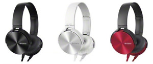 SONY EXTRA BASS MDR-XB450 HEADPHONES (BRAND-NEW IN BOX)