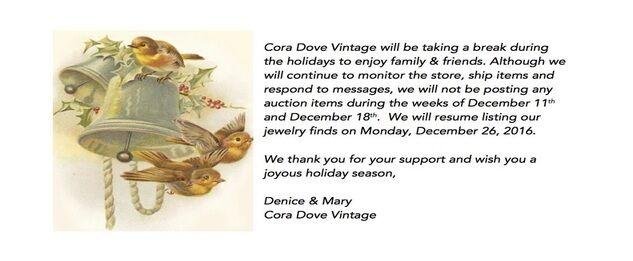 Cora Dove Vintage