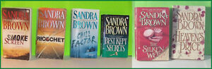 Lot of 5  Sandra Brown Pocket Books Belleville Belleville Area image 1