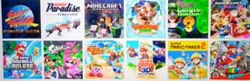 Nintendo Switch + 20 Games