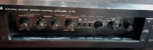 Vintage 1983 Yamaha C-70 Stereo Control Pre-Amp Amplifier