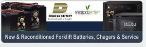 Industrial Battery/Charger Service/Repair - Free Service Call