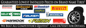 ))))BRAND NAME TIRES BAL AND INSTALL HAMILTON  NEW AND USED ((((