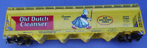 """HO Scale Covered Hopper """"OLD DUTCH CLEANSER"""""""