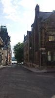 Vieux Québec, vue imprenable loft tout meublé