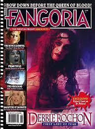FANGORIA MAGAZINE - JUNE 2012 - DEBBIE ROCHON - FIRST LADY OF FEAR