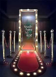 magic mirror hire / photo booth hire / kids booth hire /