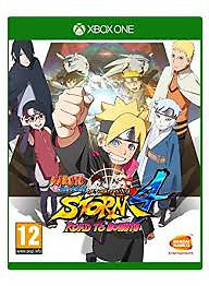XBOX-1 NARUTO NINJA STORM 4 ROAD TO BORUTO (LOTS OF OTHER TITLES IN STORE)