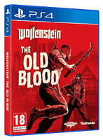 Wolfenstein: The Old Blood (Sony PlayStation 4, ps4) like new