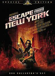 2 films DVD Escape from New York et Escape from L.A.