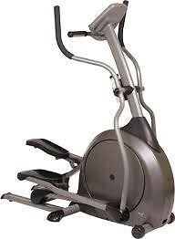 Super quiet front drive Vision Fitness X1500 cross trainer