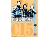 The Professionals DVD Complete Box Set - Seasons 1 to 4