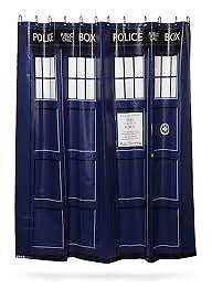 Dr Who - Police Call Box - Shower Curtain