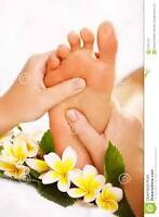 FOOT MASSAGE PARTY!!!!