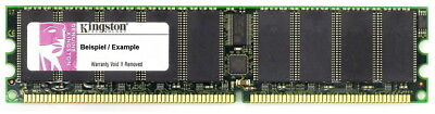 2GB Kingston DDR1 PC2700R 333mhz ECC Reg Server Ram Cl2.5 Kvr333d4r25 2gi Memory