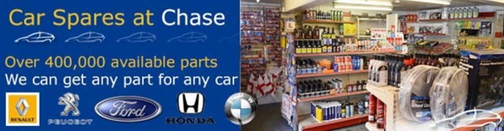 Chasecarspares