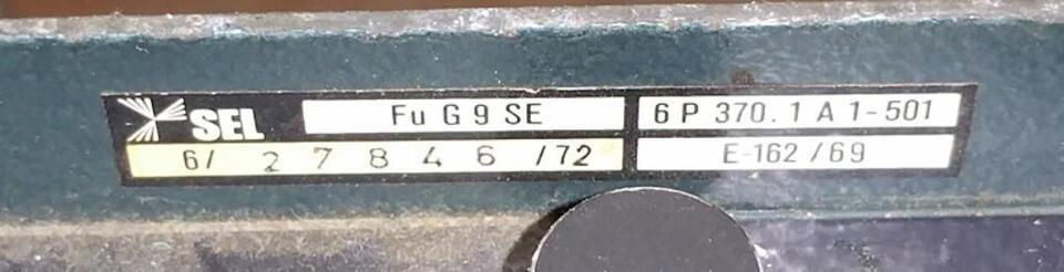 Funkgerät FuG 9 SE von SEL für 2m BOS-Funk (4) in Brechen