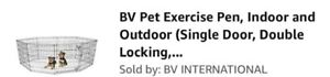 Pet exercise pen indoor or outdoor like new