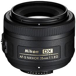 Nikon 35mm f1.8G lens