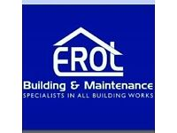 profesional builders / plasterers / painters /team availabile looking for next job