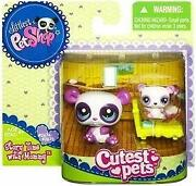 Littlest Pet Shop Mommy and Baby