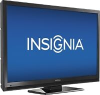 "New Insignia 50"" LCD Flat TV Full HD 120Hz with stand"