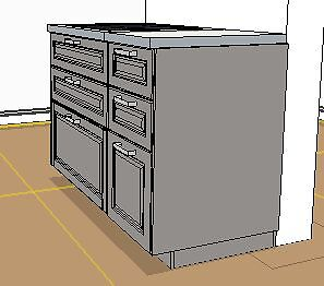 Kitchen Island 120cm ikea kitchen island with draws and grey bodbyn fronts 120cm wide