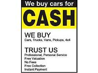 WE BUY ALL TYPE OF CARS! CALL US NOW! WE PAY UP TO 2K