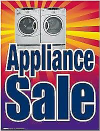 Top Load Washer & Dryer SETS-  1 YEAR WARRANTY!!