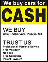 WE WANT ANY LOW PRICED UNWANTED VEHICLES FOR RECYCLING
