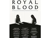 Royal Blood / Hydro / Great Seats / Block 203, row n, seats 232 and 233