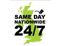 24/7 Sameday Nationwide Courier Service
