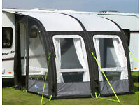 Kampa Rally Air 260 Caravan Porch Awning Grey Charcoal (End of Season Bargain!!!!!)