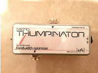 SFX Microthumpinator - Bass pedal filter / EQ, a must have for any bass player!
