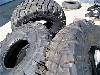 Michelin XML 325/85R16 Military tires 4x4 MUD TIRES