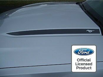 2010 2012 Ford Mustang Hood Spear Cowl Stripe Graphic Decal Sticker Package Ssd