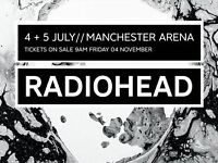 Radiohead Tickets Manchester