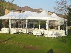 Chairs , tents , tables , food warmers ,cutlery , speaker rental Oakville / Halton Region Toronto (GTA) image 1