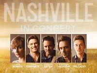 2 x Nashville Tickets Glasgow Hydro 16th June 2017