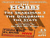 CRAVAT RECORDS PRESENTS A NIGHT OF GARAGE/PUNK AND BLUES IN CAMDEN The Fiddler's Elbow, 1 Malden Road, London, UK