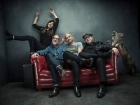 Pixies x 2 standing Manchester Apollo Sunday 4th December 07966637628