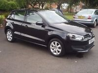 ***FINANCE AVAILABLE GOOD CREDIT BAD CREDIT NO CREDIT VW POLO 1.2 BLACK***