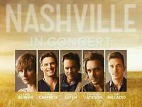 Nashville Live in concert Tickets - BEST SEATS - Royal Albert Hall, London - Sunday 11th June