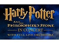2 x Harry Potter and the philosophers stone in concert tickets